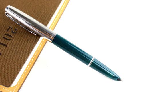 Nuevo plateado y verde coloreado fuente pluma Héroe 616