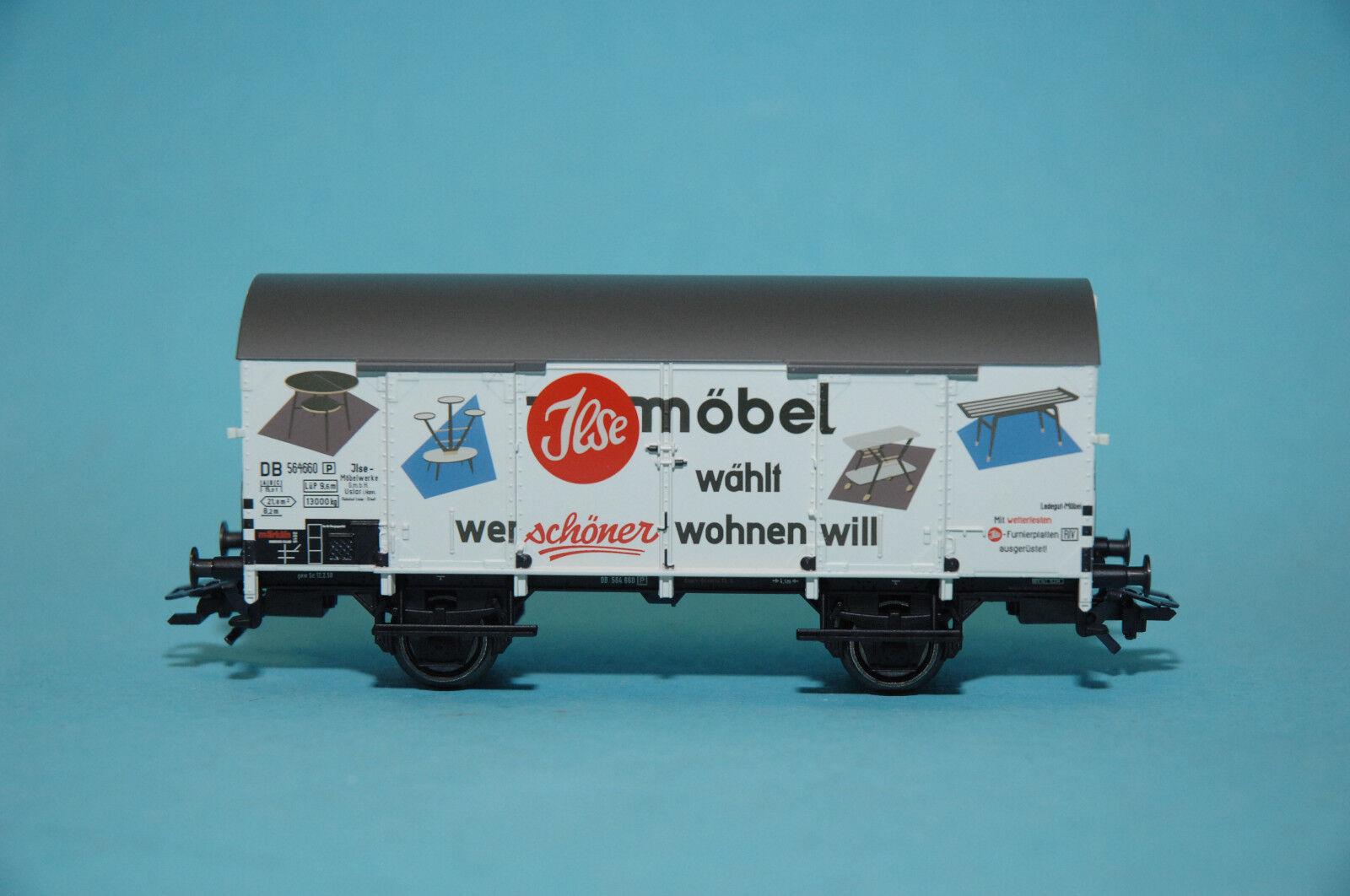 Märklin 48165 Vagón de Carga Cerrado  Ilse Muebles  DB ep.iii Modelo Insider