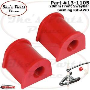 Prothane 13-1106 Red 16 mm Front Sway Bar Bushing Kit