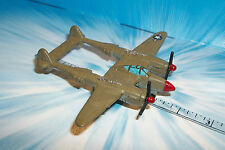 MICRO MACHINES Aircraft P-38 Lightning # 4B Green
