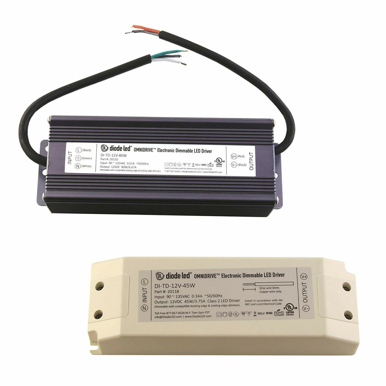 Diodo Led 24V OMNIDRIVE Eléctrico Controlador 120W Regulable