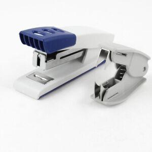 Light Duty 25mm Thick Sheet Capacity Orange White Plastic Stapler
