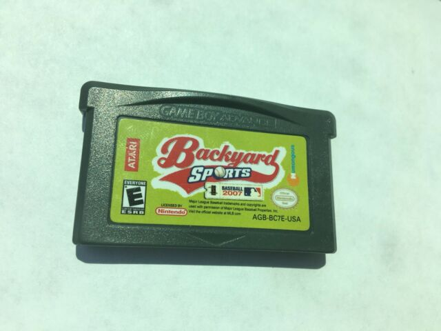 Backyard Sports: Baseball 2007 (Nintendo Game Boy Advance ...