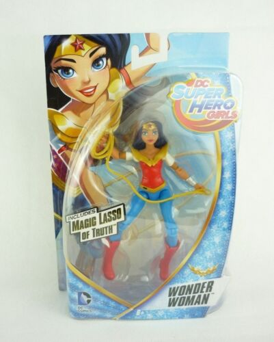 DC Super Hero Girls personaggio del gioco con accessori ca 15cm-WONDER WOMAN dmm33
