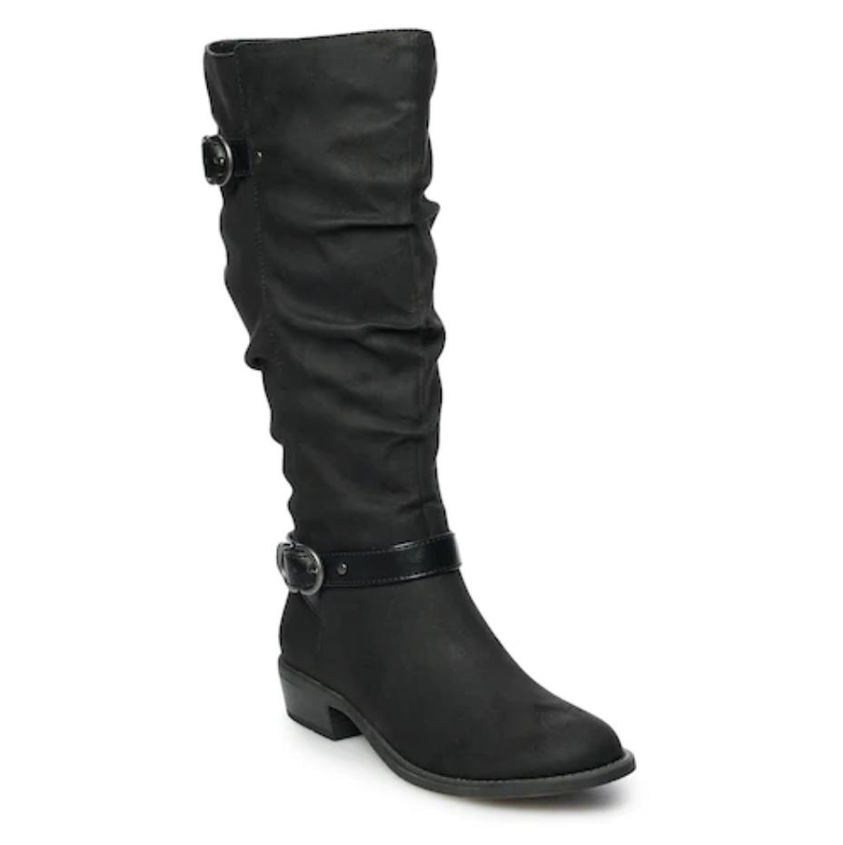 Nwt Damen Sonoma Goods für Leben Ziehen Kniehohe Stiefel Schuhe Wähle Schwarz