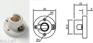 0051-PORTALAMPADE-E14-IN-PORCELLANA-CON-BASE-FISSAGGIO