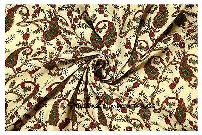 25 Indian Block Print Cotton SQUARES *ROMA* Hand Block Print Cotton 5 x 5 Traditional Indian Prints Patchwork Quilting Bundle Pack