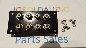 Details about Harman Kardon 330 RCA Input/Output Jack Panel Phono,Tape,Aux  ETC Parting Out 330