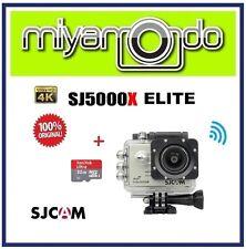 SJCAM Original SJ5000X WiFi Action Camera (Silver) + Sandisk Ultra microSD 32GB