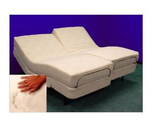 ZERO G ADJUSTABLE ELECTRIC BEDS, SPLIT KING, CAL KING WITH 13 GEL MEMORY FOAM!
