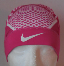 2ede400e499b5 Nike Pro BCA Hypercool Vapor Skull Cap 4.0 Vivid Pink white Adult Size OSFM