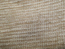 25 Metre Roll Quality Chenille Fireproof Upholstery Fabric In Natural Gold