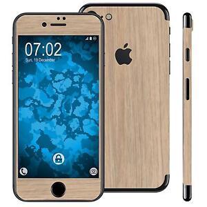 1-x-Set-di-pellicole-effetto-legno-per-Apple-iPhone-7-8-SE-2020-bruno-chiaro