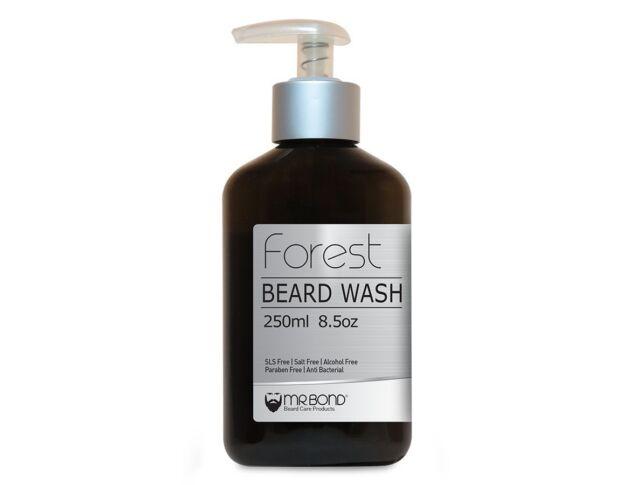 Organic Beard Shampoo Wash Contains Vitamins Beard Care 250 ml Men Brand New