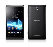Sony XPERIA E DUAL SIM c1605 BLACK NERO WIFI Android senza SIM-lock NUOVO