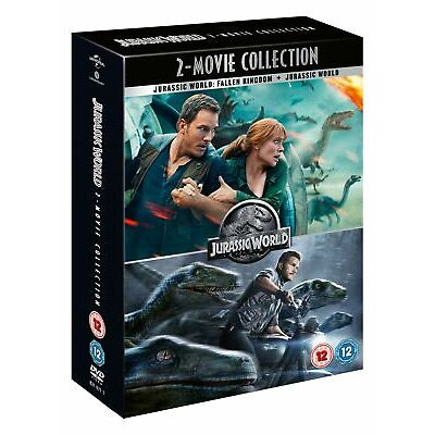 Jurassic World/Jurassic World - Fallen Kingdom [DVD]