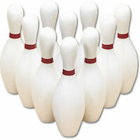 Lightweight Bowling Pins - Set Of 10 Pins on Sale