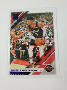 2019-20 PANINI DONRUSS CLEARLY RUSSELL WESTBROOK ACETATE SSP BLUE PARALLEL 68/99