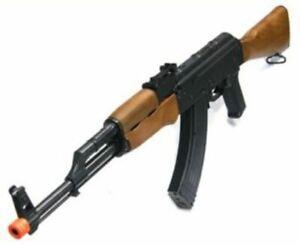 AK-47 Kalashnikov URSS rifle de asalto primavera Airsoft 6mm BB pistola por toystar AK47