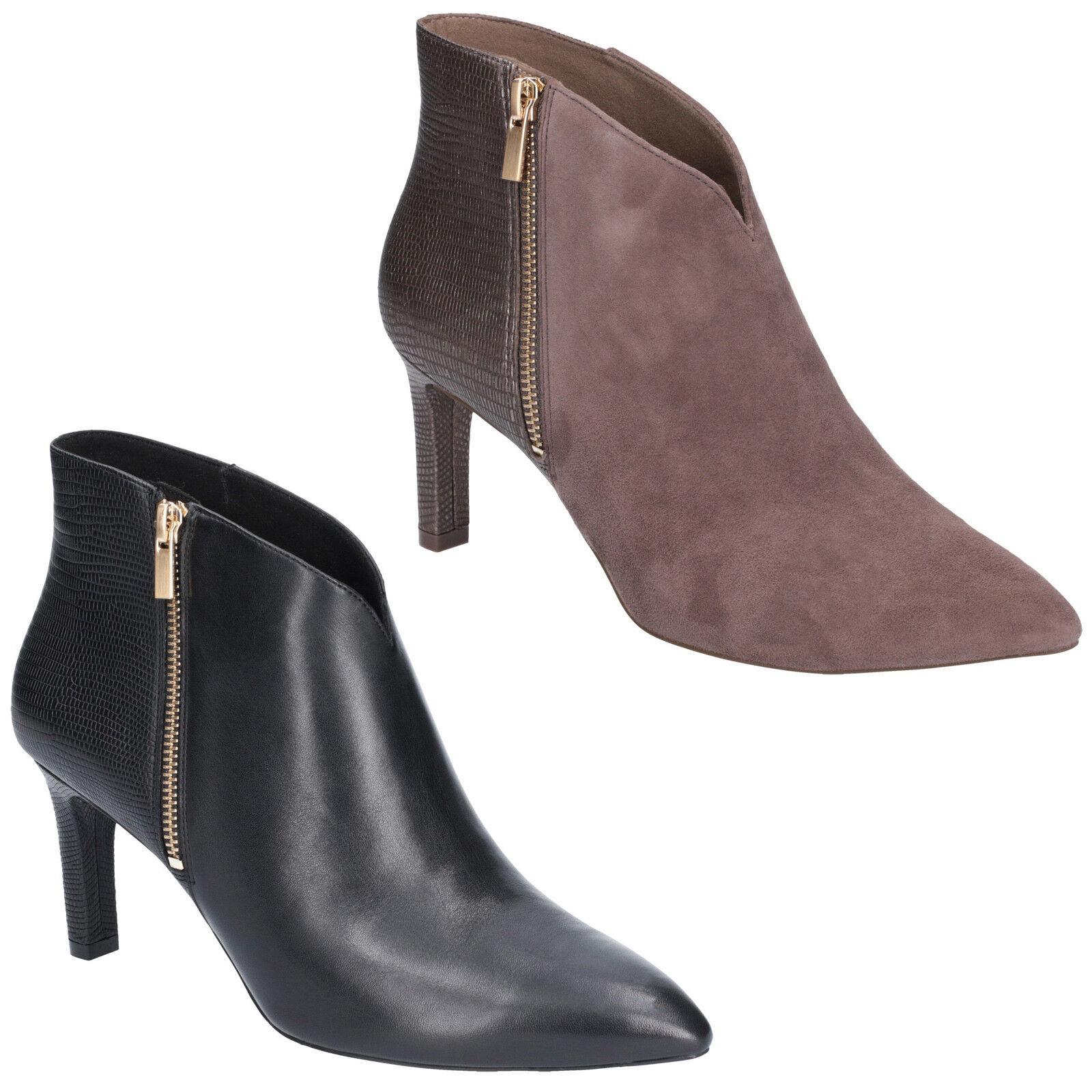 Rockport Total Motion Valerie Luxe Zapatos Zapatos Zapatos Mujer Cremallera Ankle Tacones botas  marcas en línea venta barata