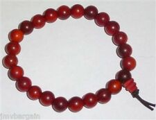 Prayer Beads Dragon Blood Wood Wrist Mala Prayer Bracelet 8mm #41010