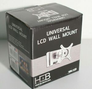 Support-mural-ecran-TV-PC-moniteur-pivotant-amp-inclinable-LCD-10-24-034-VESA-100x100