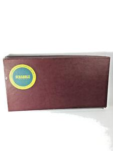 Vintage-1948-Scrabble-Board-Game-Production-amp-Marketing-Company-RARE
