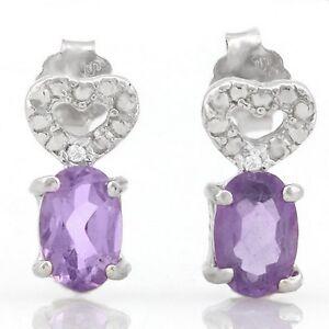 Ohrringe-Ohrstecker-Holly-925er-Silber-0-82-Kt-echter-Amethyst-Diamant