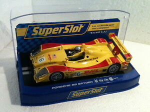 St Scalextric Uk 2812 Durable Service Qq H2812 Bestellung Porsche Rs Spyder Imsa P2 # 6 Dhl