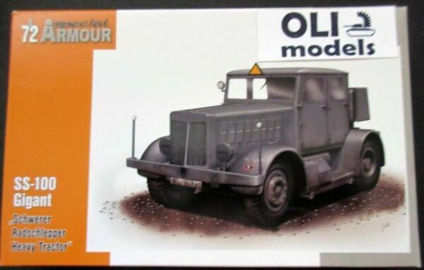 """New Ss-100 Gigant /"""" Heavy with Wheels /"""" 1//72,Special Armour,Plastic"""