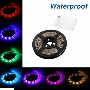 2m rgb led 5050 smd streifen strip lichtleiste lichtband lichterkette leuchte ebay. Black Bedroom Furniture Sets. Home Design Ideas