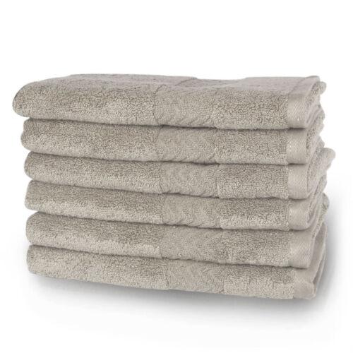 Ultra Soft Absorbent Bathroom Towel Hotel Towels Set 100/% Plush Cotton Solid