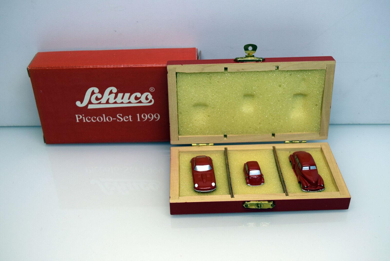 Schuco 01239 Schuco Piccolo-Set 1999 avec 3 voitures particulières Modèles