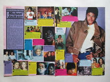 Michael Jackson Nena Brooke Shields McCartney clippings Germany German 1980s