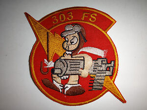 US Air Force 303rd FIGHTER SQUADRON 442nd OPERATIONS GROUP Patch