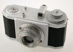 Fritz-KUHNERT-EFKA-24-1947-24x24mm-Elor-2-8-4cm-Futura-Freiburg-selten-rare