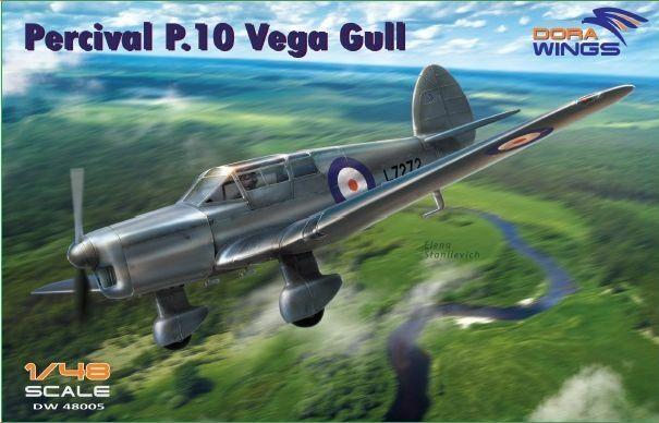 Dora vinges 1  48 Percival P.10 Vega Gull