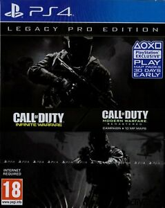 Call-of-Duty-Infinite-Warfare-Legacy-Pro-Edition-PS4-Steel-Book-NEW-SEALED
