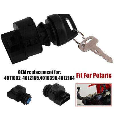 3PCS Key Switch Key Cover Fit For Polaris RZR 1000 XP