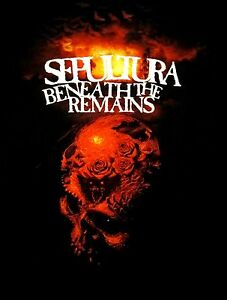 SEPULTURA-cd-cvr-BENEATH-THE-REMAINS-30-YEARS-Official-SHIRT-XXL-2X-New-soulfly