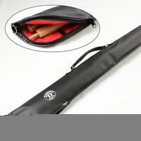 Jonny 8 Ball Heavy Duty Vinyl Soft Case For 2 Piece Snooker Pool Cue