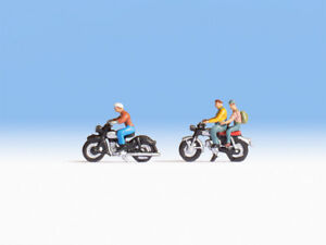 Brillant Noch |15904 | Motocycliste| Figurines| Maquette De Train