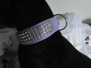 Bracelet en cuir violet et noir