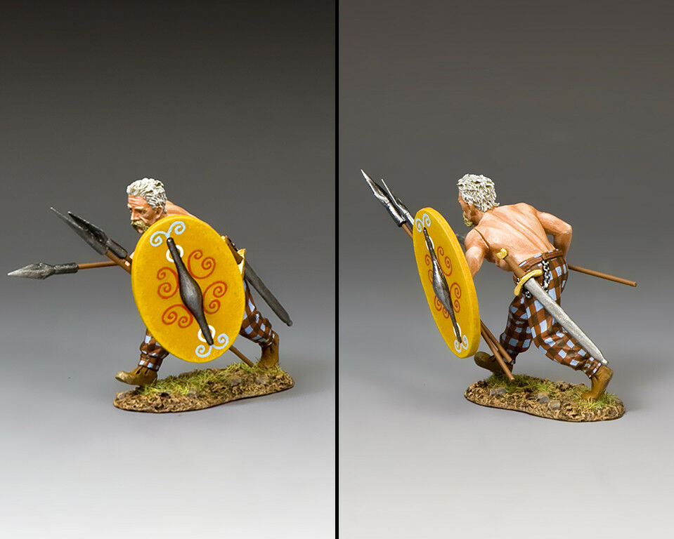 King & Land Roman Empire RNB032 Keltischer Spearman Ladung MIB