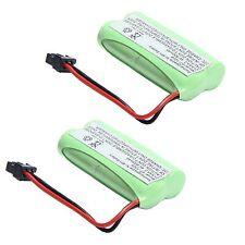 2x 2.4V Cordless Home Phone Battery Pack for Uniden BT-1008 BT-1021 BT1008