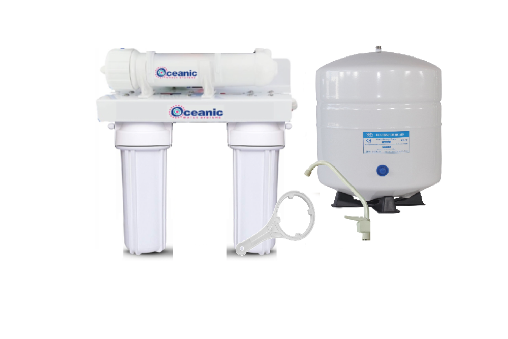 OCEANIC REVERSE OSMOSIS RO HOME DRINKING WATER FILTERS SYSTEM  100 GPD USA