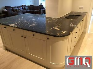 Details about Cosmic Black Granite worktop | All colours Available!