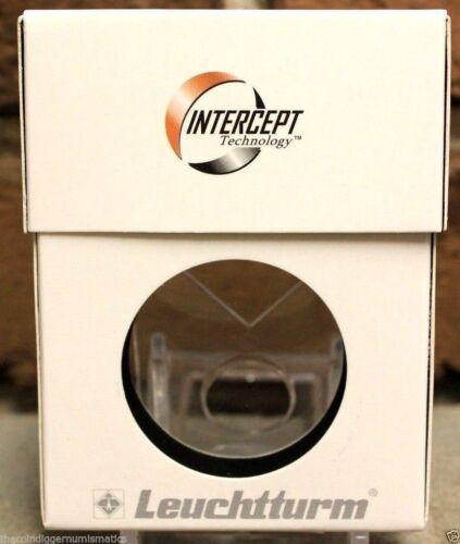 10 Lighthouse INTERCEPT QUICKSLAB 40mm Coin Holder Slab Storage Box IBDPSL10