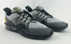 NIKE AIR MAX Sequent 4 Utility New Mens Running Shoes Wolf Grey Sport AV3236 003