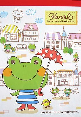 Kamio Kerol Frog Memo Pad~KAWAII!!
